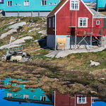timer houses, colourful houses