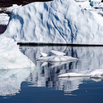 Blue Ice, Disko Bay, Sailing, Greenland, Reflections