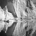 Iceberg, B&W