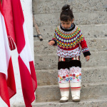 National Costume, Greenland flag